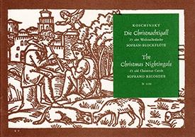 Die Christnachtigall - Soprano Recorder solo