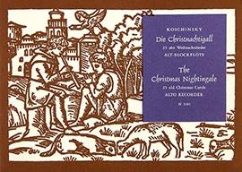 Die Christnachtigall - Altblockflöte solo