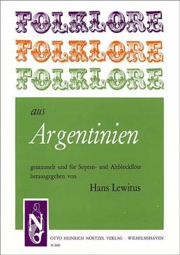 Folklore aus Argentinien - Sopran- und Altblockflöte