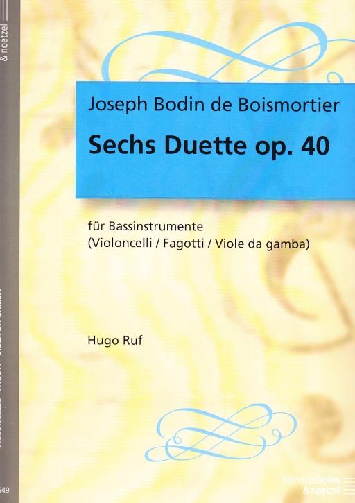 Boismortier, Joseph Bodin de - Sechs Suiten op. 17 -  Band 1 2 Altblockflöten