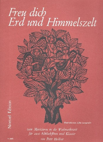 Freu dich, Erd und Himmelszelt - 2 treble recorders and piano