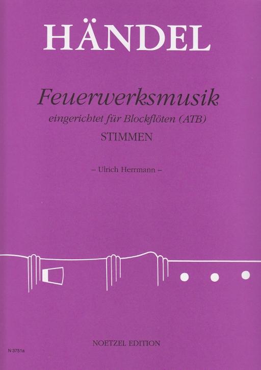 Händel, Georg Friedrich - Feuerwerksmusik - ATB