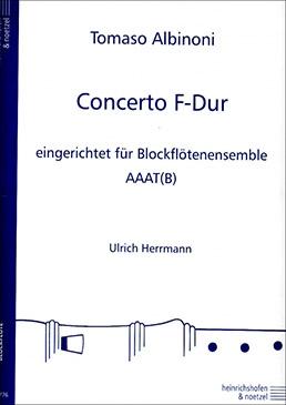 Albinoni, Tommaso - Concerto F-dur - AAAT