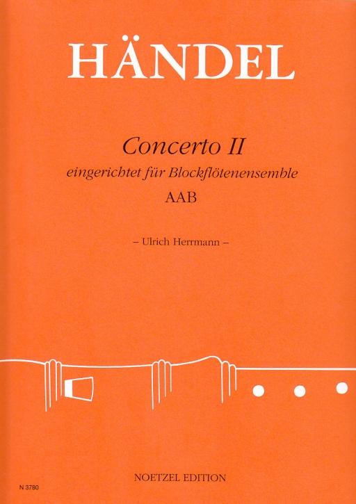 Händel, Georg Friedrich - Concerto II - AAB
