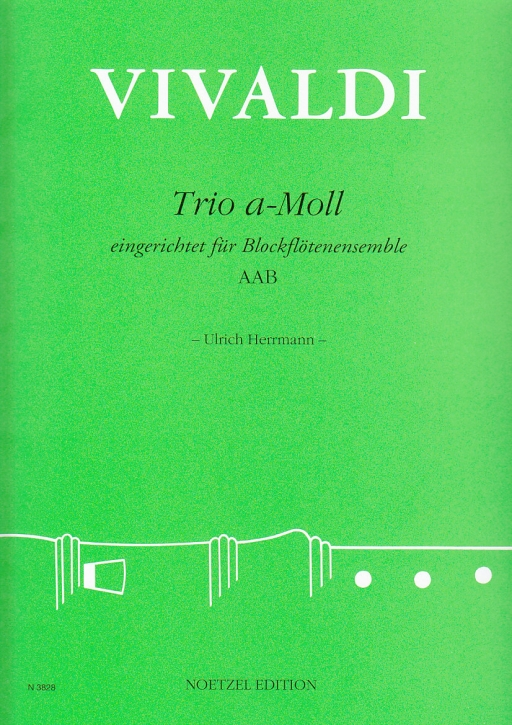 Vivaldi, Antonio - Trio a-moll - AAB