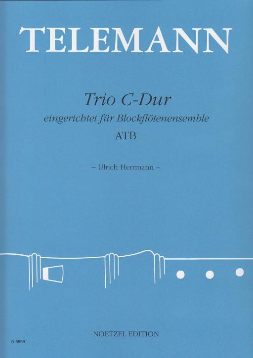 Telemann, Georg Philipp - Trio C-dur - ATB