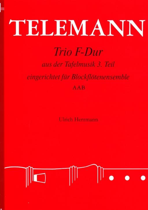 Telemann, Georg Philipp - Trio F-dur - AAB