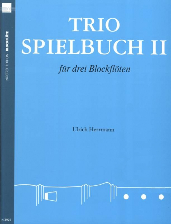 Herrmann, Ulrich - Trio-working book -  vol 2  ATB / ATT / AAA / SAT / SAA