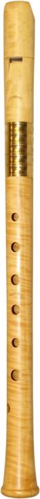 Altblockflöte (g) Ralf Netsch Modell Ganassi 442 Hz, Buchsbaum