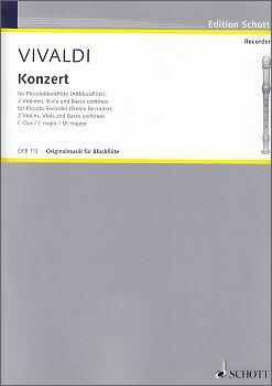 Vivaldi, Antonio - Concerto C-dur - Sopraninoblockflöte und Klavier
