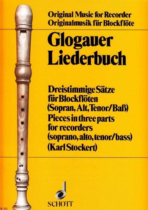 Glogauer Liederbuch - SAT / SAB