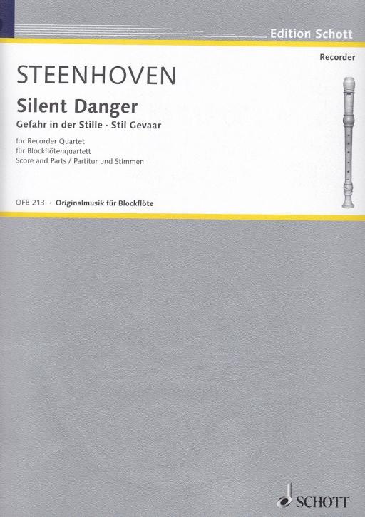 Steenhoven, Karel van - Silent Danger - Gefahr in der Stille - SATB