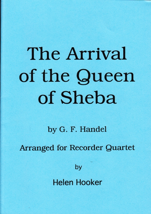 Händel, G. F. - Arrival of the Queen of Sheba - AATB