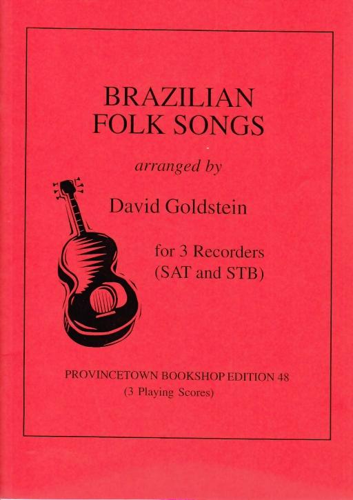 Brazilian Folksongs - SAT und STB