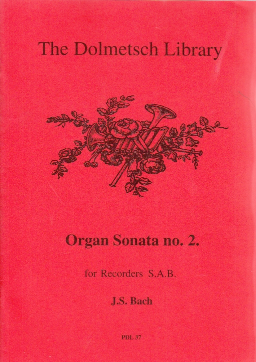 Bach, Johann Sebastian - organ sonatas Nr. 2 - SAB,