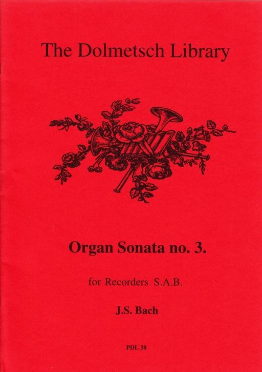 Bach, Johann Sebastian - Orgelsonate Nr. 3 - SAB