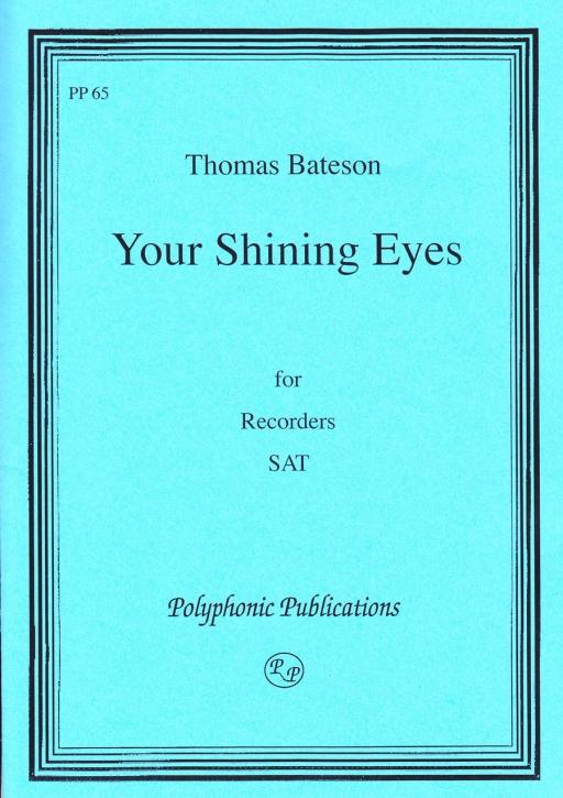 Bateson, Thomas - Your shinig Eyes