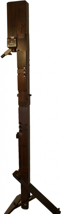contra bass recorder (F) Paetzold by Kunath laminated birch, stained