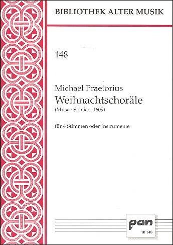 Praetorius, Michael - Weihnachtschoräle - Recorder Quartet SATB