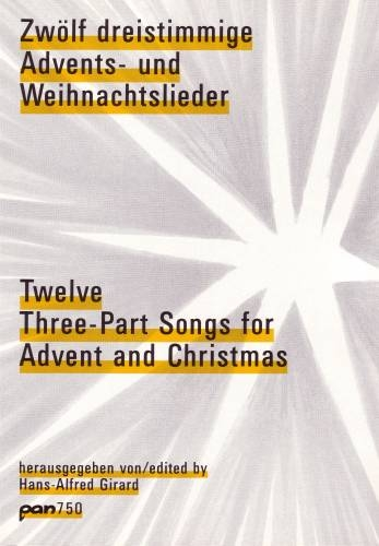 Zwölf dreistimmige Advents- und Weihnachtslieder - Recorder Trio SAT