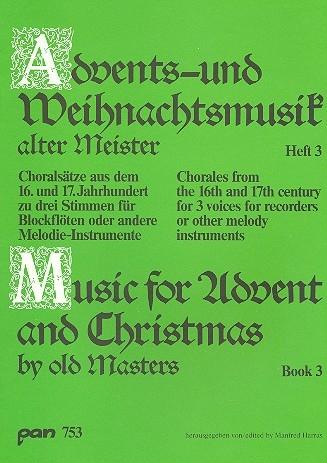 Advents- u. Weihnachtslieder alter Meister - 3  SAT