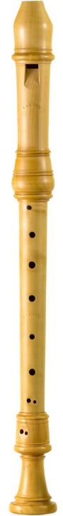 treble recorder Peter van der Poel Stanesby, 442 Hz, europ. boxwood