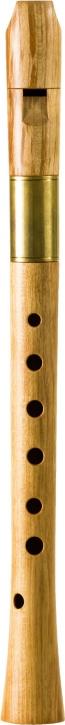 Sopranblockflöte<br> Yoav Ran<br> Modell Ganassi<br> 442 Hz, Ahorn