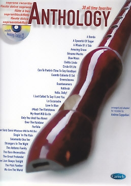 Cappellari, Andrea (Hrg.) - Anthology Vol. 1 - soprano recorder + CD