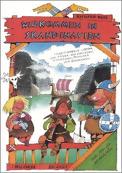 Voss, Richard - Willkommen in Skandinavien - Altblockflöte und Gitarre ad. lib.