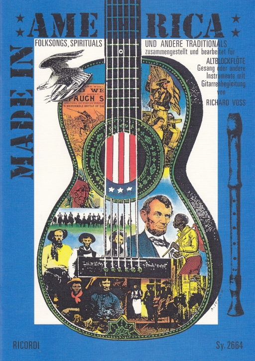 Made in America  -  Treble Recorder and guitar