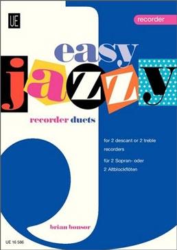 Bonsor, Brian - Easy Jazzy Duets - 2 Sopranblockflöten