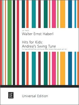 Haberl, Walter - Andrea's Swing Tune - Soprano Recorder and Piano