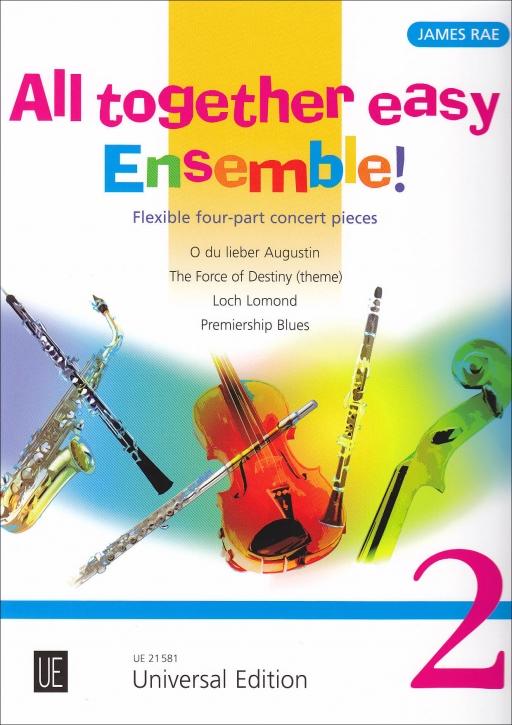 Rae, James  - All together easy Ensemble 2 ! - Quartett + Klavier (ad lib.)