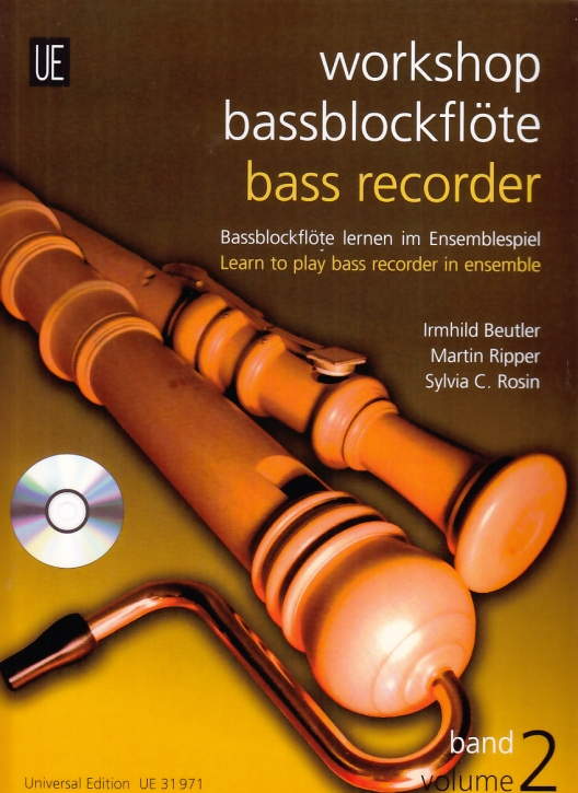Ensemble Dreiklang - Workshop Bassblockflöte Vol.2 - (mit CD)