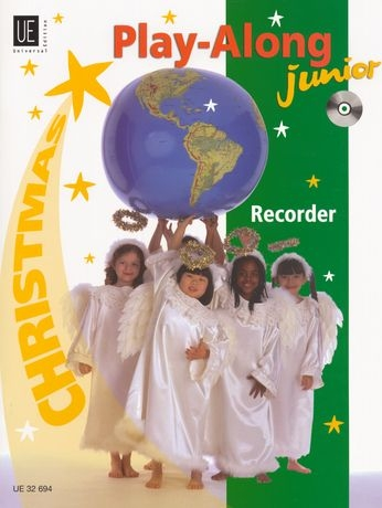 Christmas Play-Along - Soprano Recorder + CD