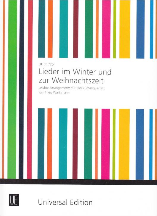 Lieder im Winter und zur Weihnachtszeit - SATB