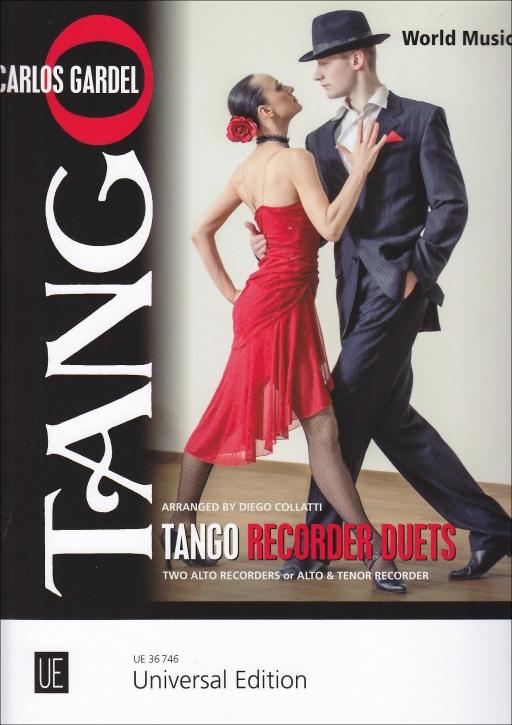Tango - für 2 Blockflöten AA oder AT