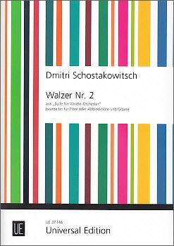 Schostakowitsch, Dmitri - Walzer Nr. 2 - Altblockflöte und Gitarre