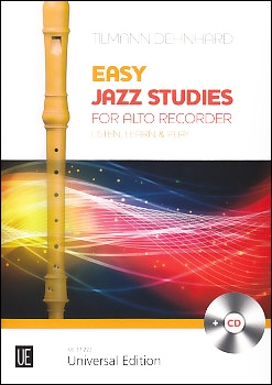 Tilmann Dehnhard - Easy Jazz Studies  -  recorder and CD<br><br><b>NEU !</b>