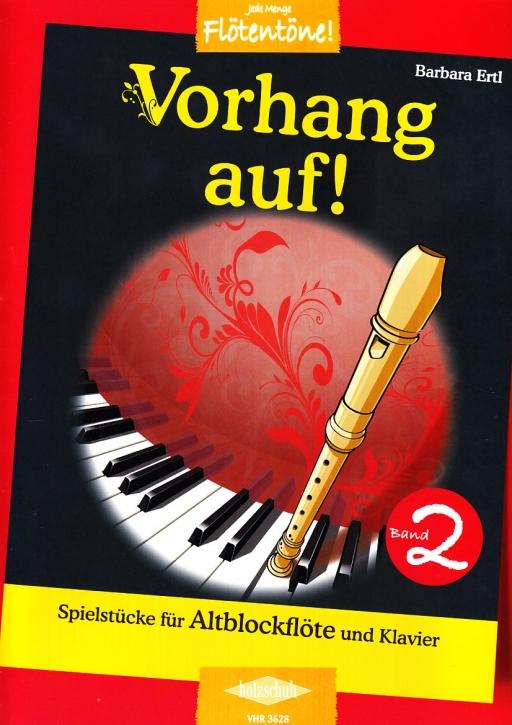 Ertl, Barbara - Vorhang auf! -  Band 2 Altblockflöte und Klavier