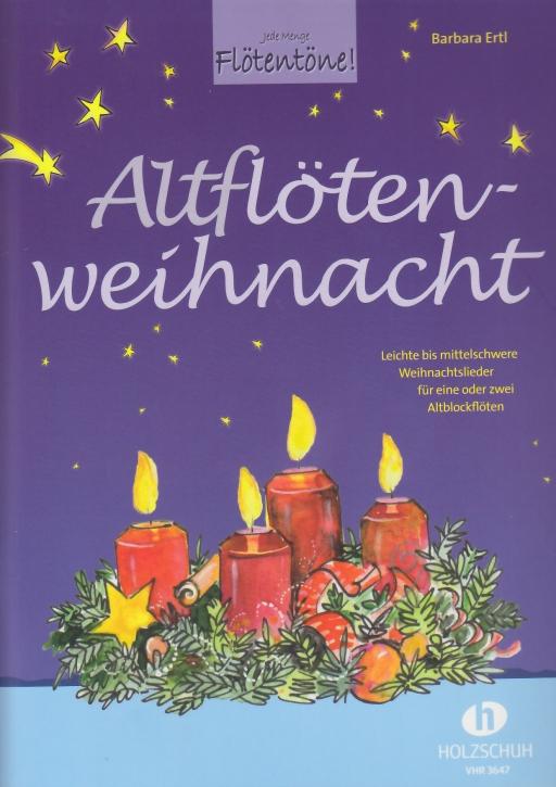 Ertl, Barbara - Altflötenweihnacht - 1 - 2 treble recorders