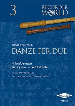 Danze Per Due - Blockflötenduette