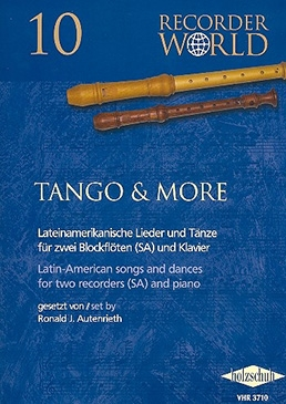Authenried, Ronald J. - Tango & More - SA und Klavier