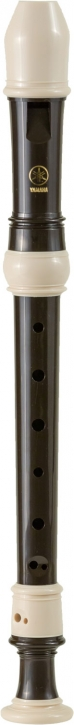 soprano recorder Yamaha YRS-302 III, plastic brown/white