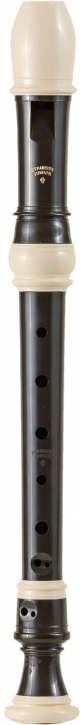 soprano recorder Zen-On 150B Stanesby, plastic brown/white