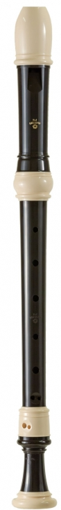 treble recorder Zen-On 1500B Bressan, plastic brown/white