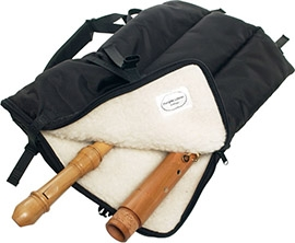 Recorder backpack - for S-A-T-B-Quartet