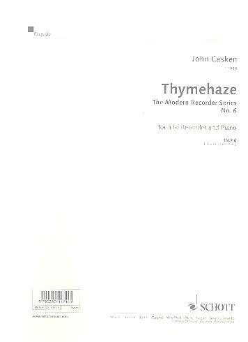 Casken, John - Thymehaze - Altblockflöte und Klavier