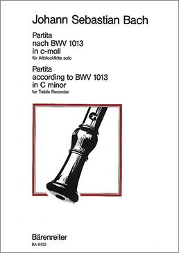 Bach, Johann Sebastian - Partita c-moll nach BWV 1013 - Altblockflöte solo