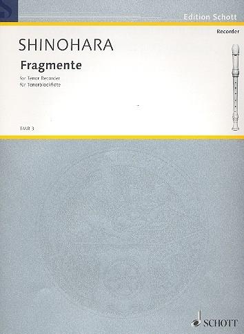 Shinohara, Makoto - Fragmente - Tenorflöte solo